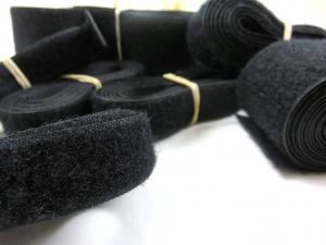 Y505 Paket - Kardborrband mjuk svart (150 g)