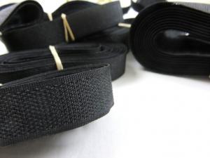 Y506 Paket - Kardborrband hård svart (150 g)
