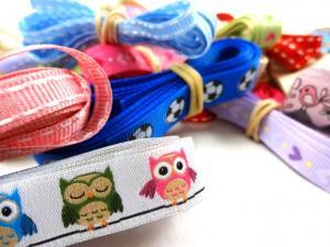 Y530 Paket - Polyesterband mönstrad (100 g)