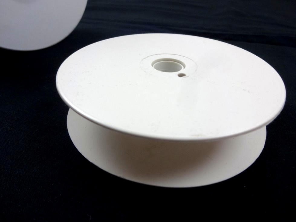 Z014 Bandrulle begagnad 25 mm vit