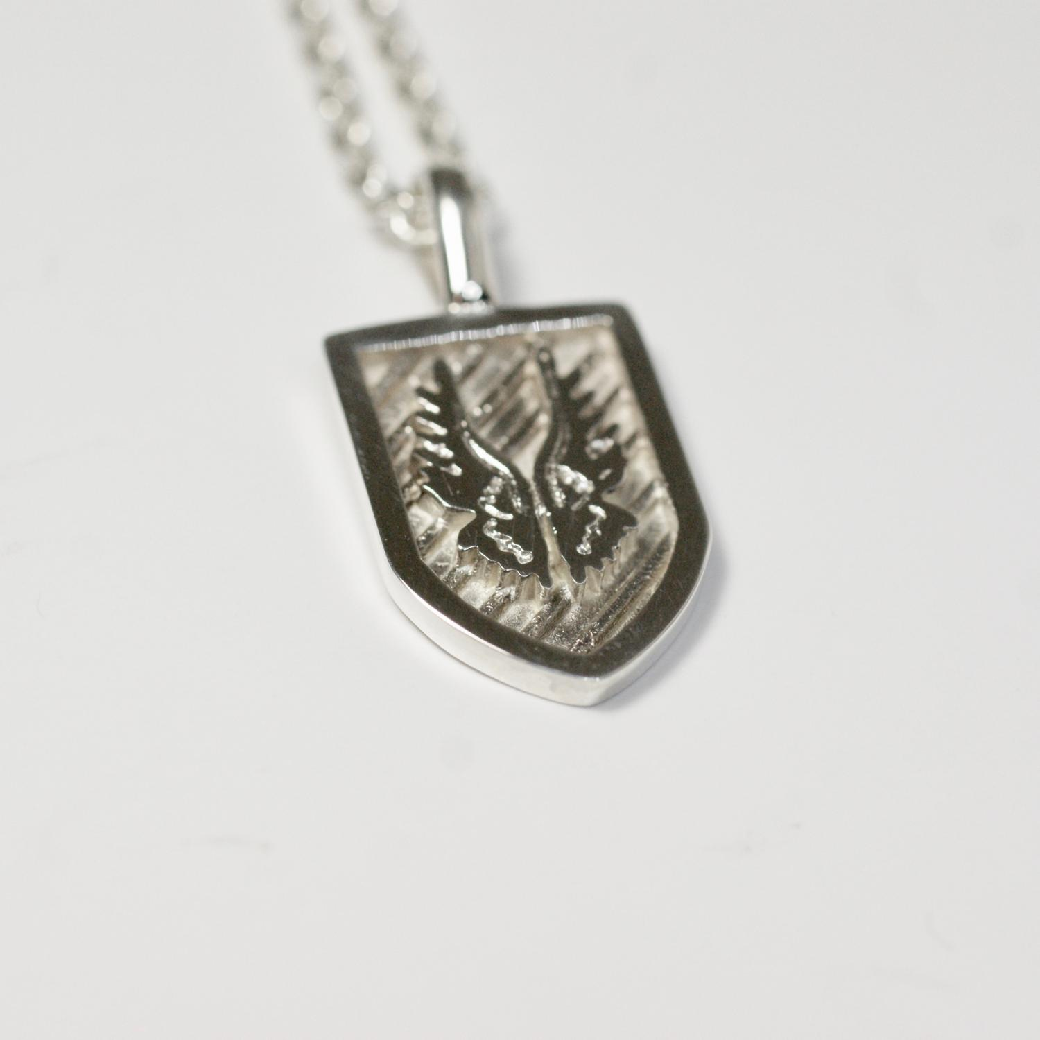 Knight Necklace Wings