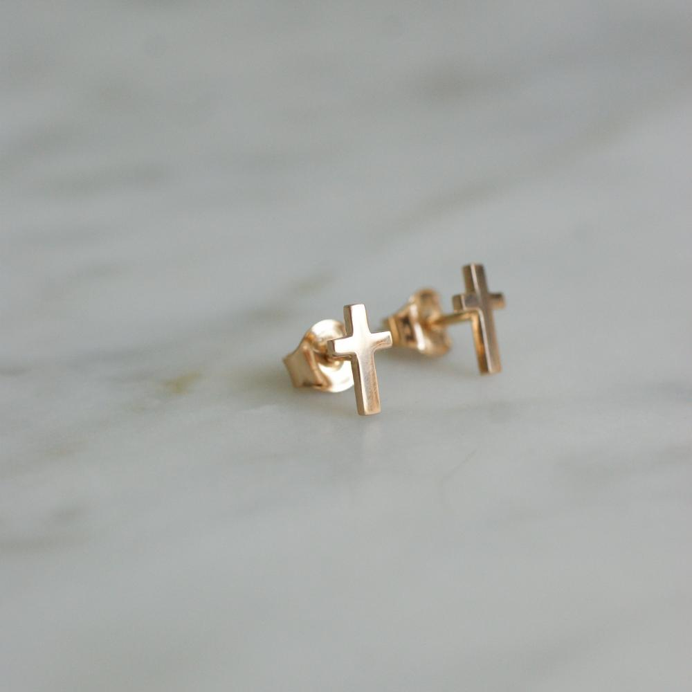 Everyday Cross 18 K