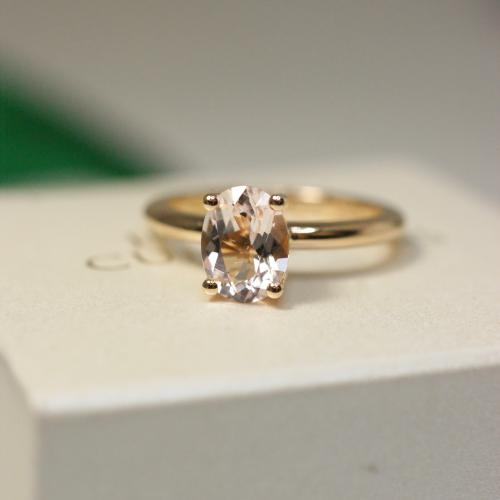 Morganite Ring (1,50 ct)