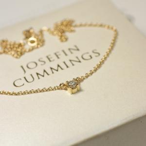 Delicate Diamond Necklace (0,15 ct)