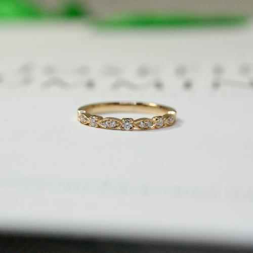 Vintage Diamond Band (0,17 ct)
