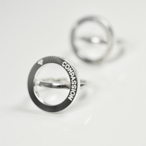 Compassion Statement Ring