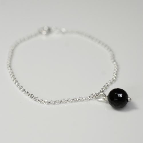 Black Onyx Single Bracelet