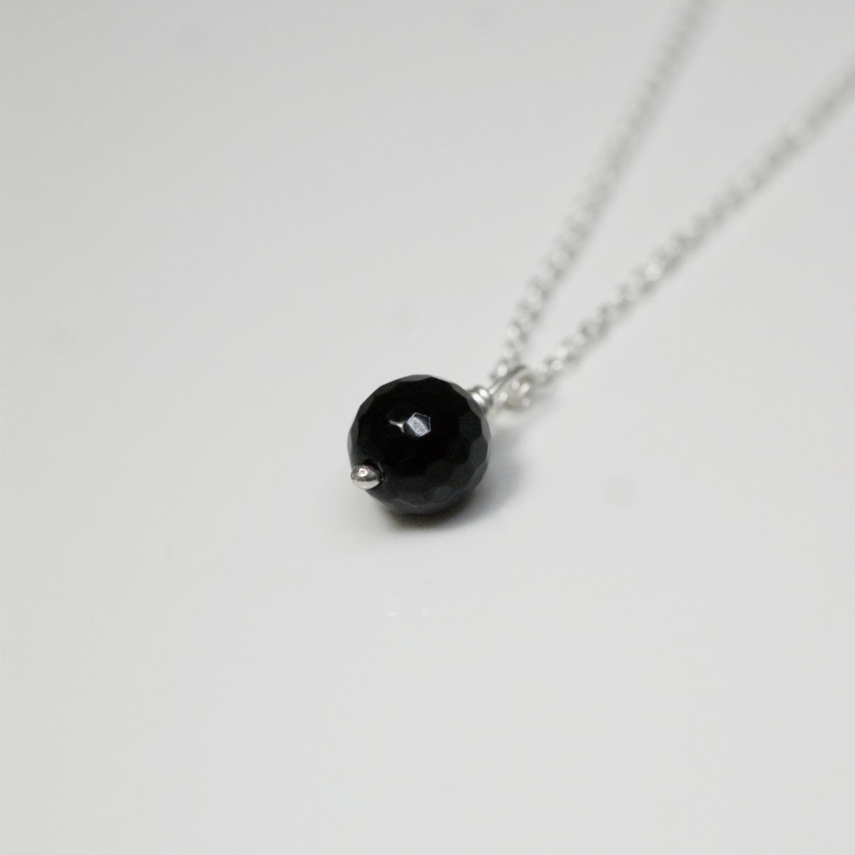 Black Onyx Single Necklace