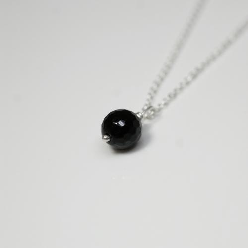 Black Onyx Single Necklace