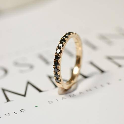 Black Diamond Band (0,26 ct)