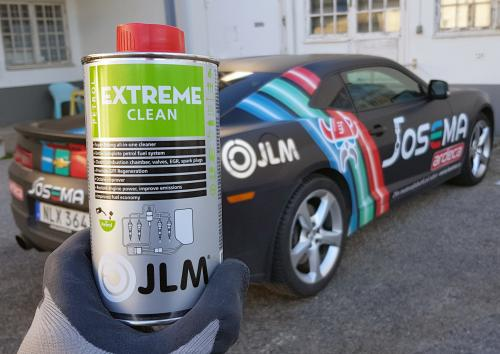 Extrem bensinsystem rengöring från JLM Lubricants