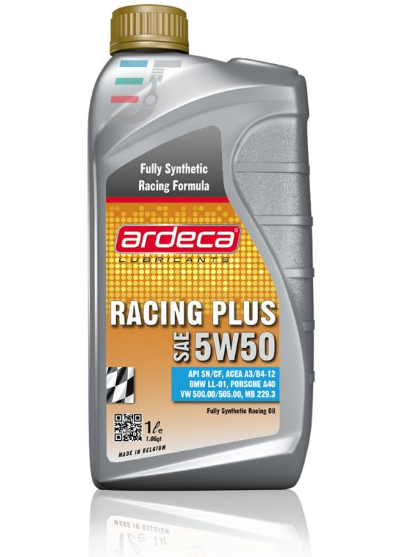 Ardeca Racing Plus 5W50 - Helsyntet Racingolja 5W50