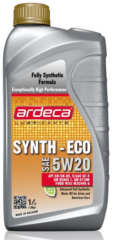 Ardeca Synth ECO 5W20 - GM Dexos 1