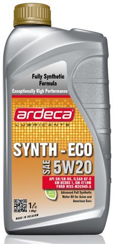 Ardeca Synth ECO 5W20 1 Liter - Josema