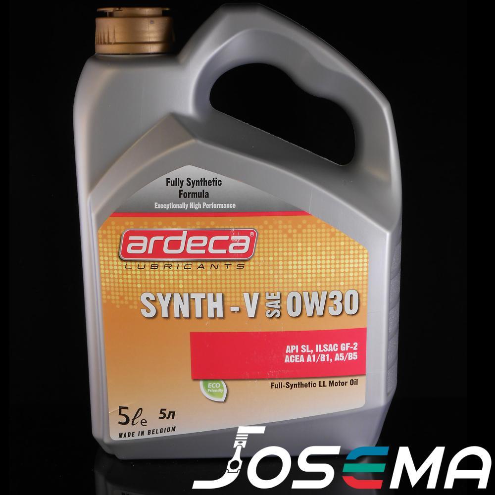 A5/B5, Volvo a5/b5, ardeca synth V 0W30, 5 liter motorolja, a5 b5 olja