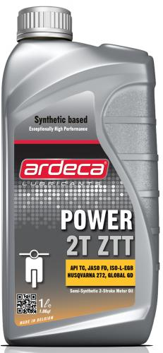 Ardeca Power 2T ZTT 1 Liter Skoterolja - Josema