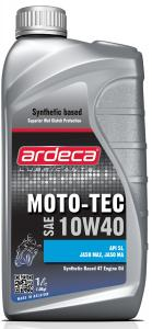 Ardeca Moto-Tec 10W40 1 Liter 4-takts MC olja - Josema