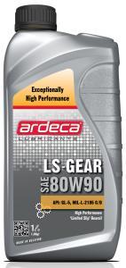 Ardeca LS Gear 80W90 1 Liter växellådsolja - Josema