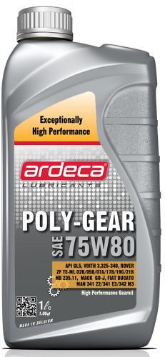 Ardeca Poly Gear 75W80 1 Liter - Josema