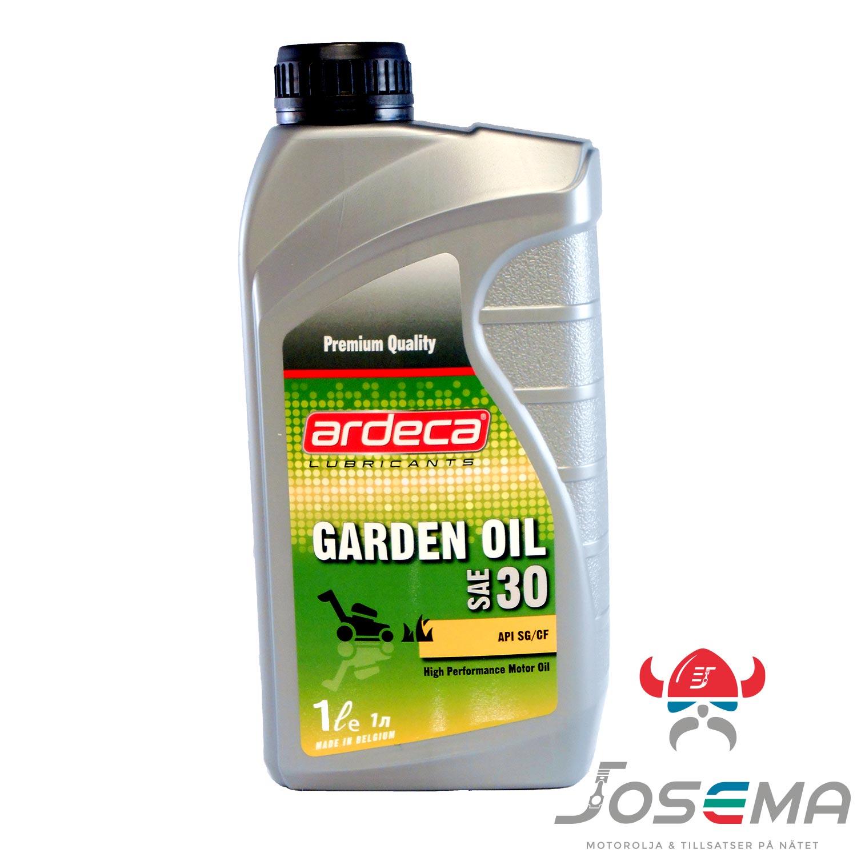 Grasklipparolja 1l Ardeca Garden Oil Sae 30