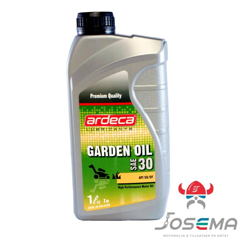 Ardeca Garden Oil SAE 30 1 Liter Gräsklipparolja