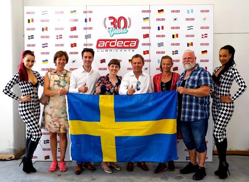 Josema representerar Sverige, svensk distributör för Ardeca Lubricants i Sverige tillsammans med ägarna av Ardeca Lubricants familjen Hein Vandecasteele.