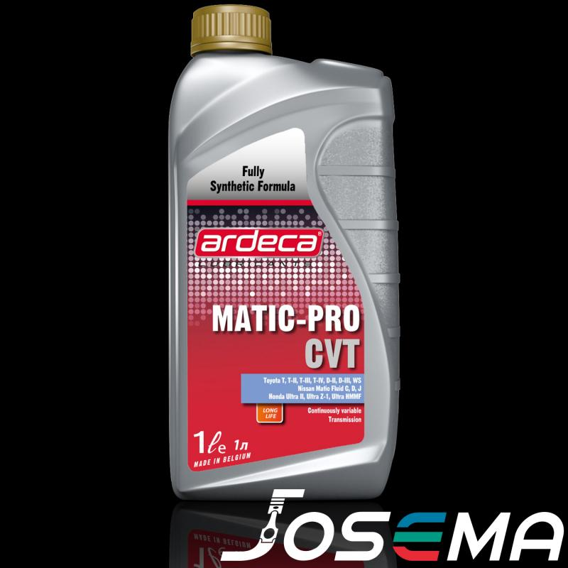 CVT olja, växellådsolja, ATF, transmissionsolja, Ardeca Matic Pro CVT