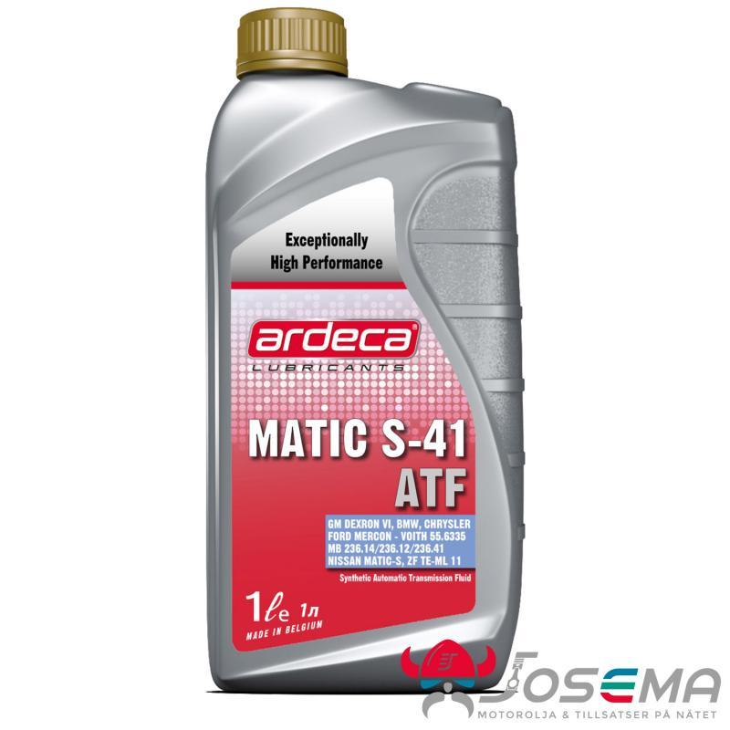 Automatlådsolja - Ardeca Matic S 41