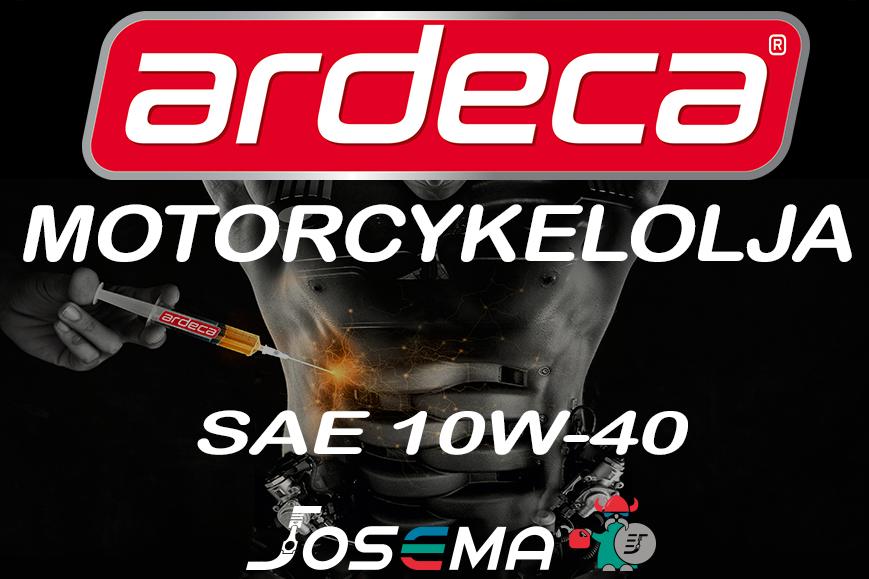 motorcykelolja 10W-40, mc olja 10W40