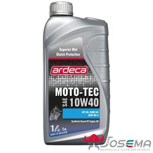Mc olja 10W-40 1 Liter - Ardeca Moto Tec 10w40