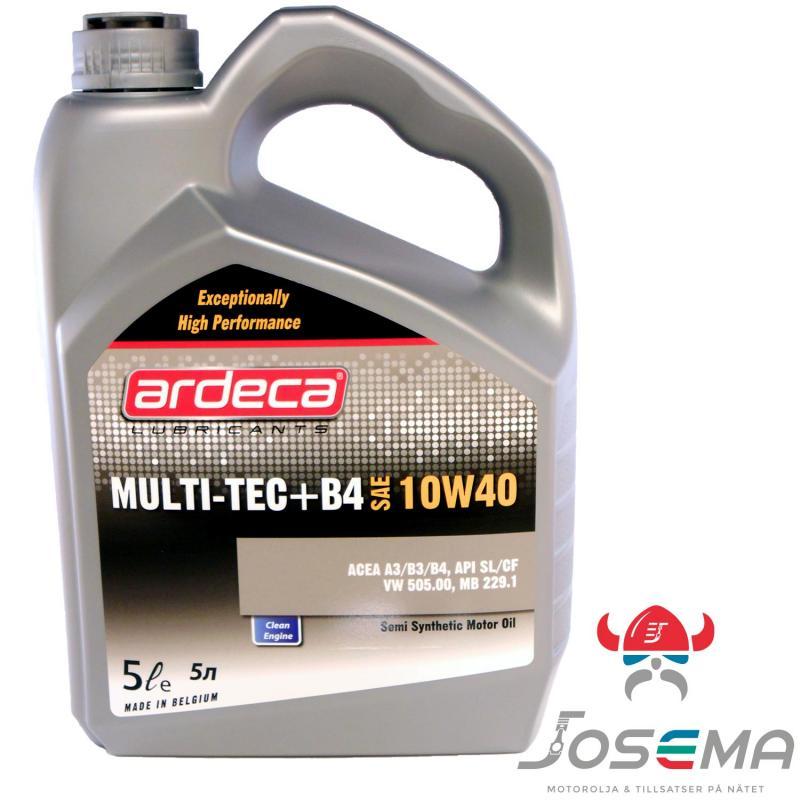 Ardeca Multi-Tec +B4 10W40 5 Liter motorolja