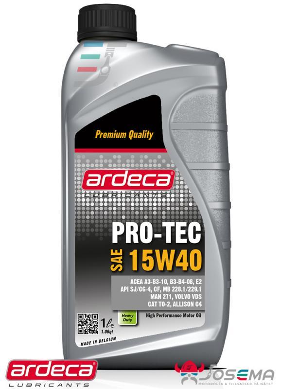 Ardeca Pro-Tec 15W40 - Mineralolja