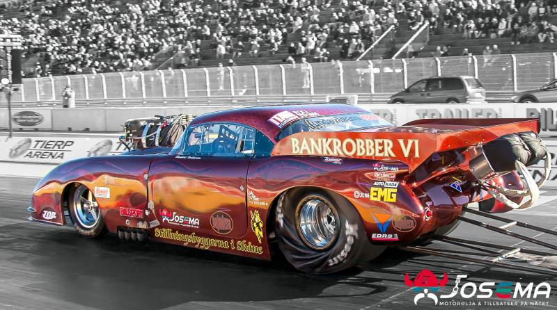 JOSEMA sponsrade team bankrobber dragracing 2016-2017