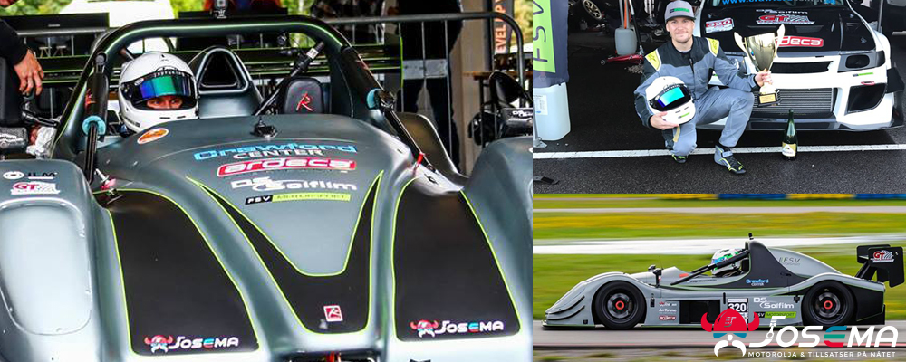 Josema sponsrar FSV Motorsport inför Radical Cup 2018