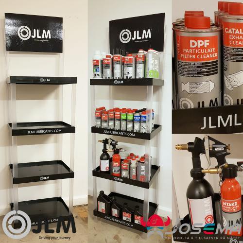 golvställ till butik och verkstad från JLM Lubricants