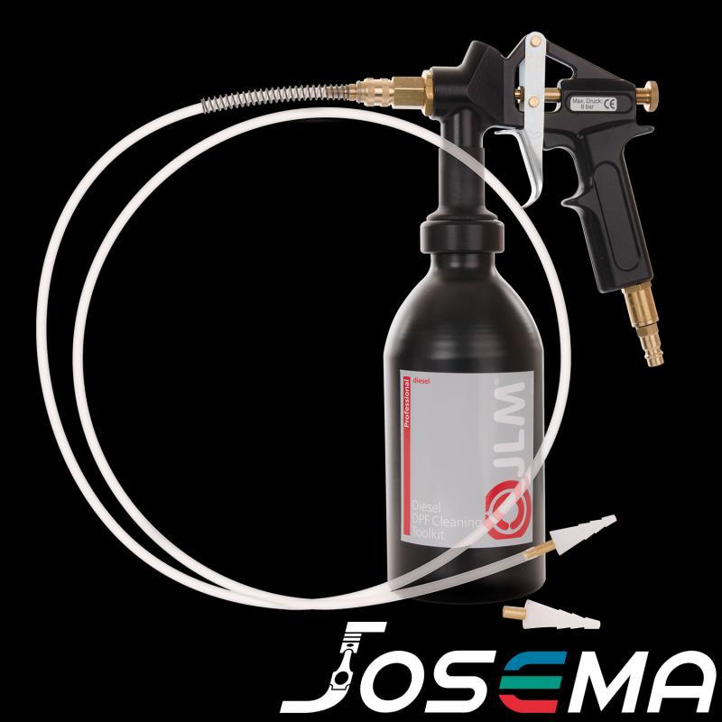 Partikelfilter rengöring med JLM Diesel DPF Cleaning Toolkit J02250