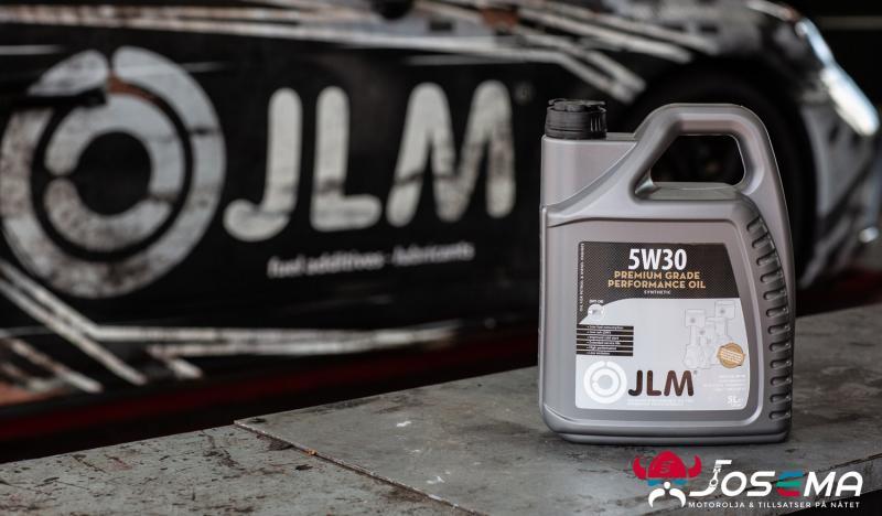 JLM Premium 5w30 olja köper du på Josema AB