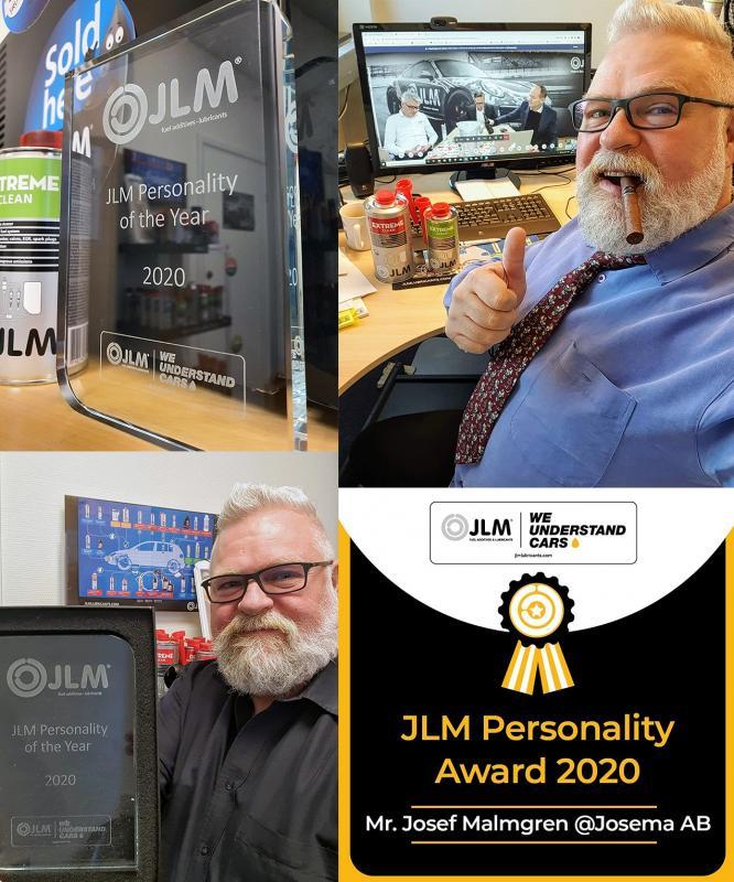 JLM Personality award 2020 - Josema AB