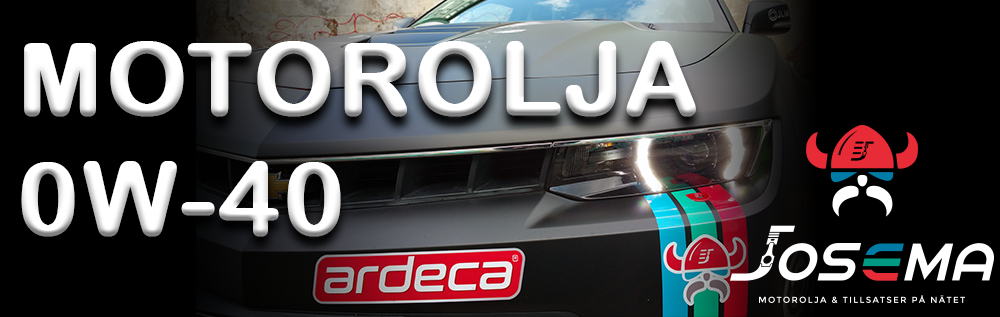 Köp motorolja 0w-40 billigt på josema.se. 0W40 olja online