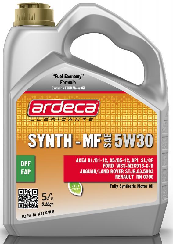 Ardeca Synth MF 5W30 5 Liter - Josema