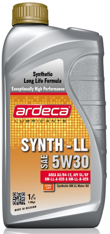 Ardeca Synth LL 5W30 - GM ll olja