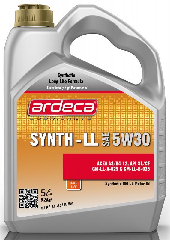 Ardeca Synth LL 5W30 5 Liter - Josema
