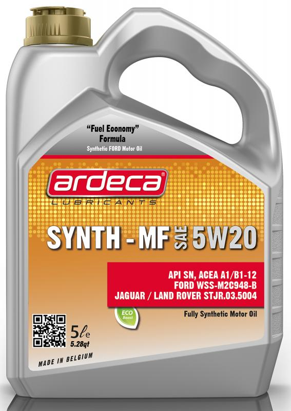 Ardeca Synth MF 5W20 5 Liter - Josema