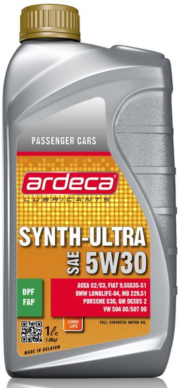 Ardeca Synth Ultra 5W30 - 504.00/507.00