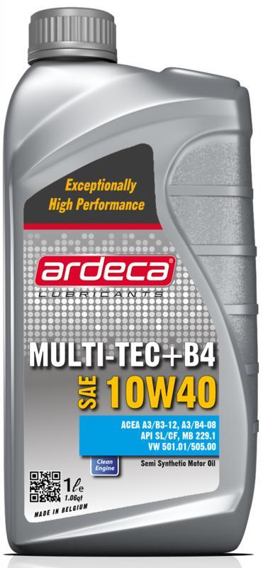 Ardeca Multi-Tec+ B4 10W40 - Delsyntet