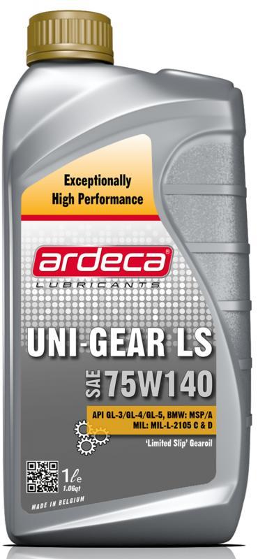 Växellådsolja Ardeca Uni-Gear LS 75W140 1 Liter - Josema