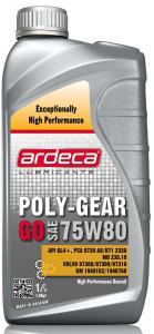 Ardeca Lubricants Poly Gear Go 75W80 1 Liter - Josema