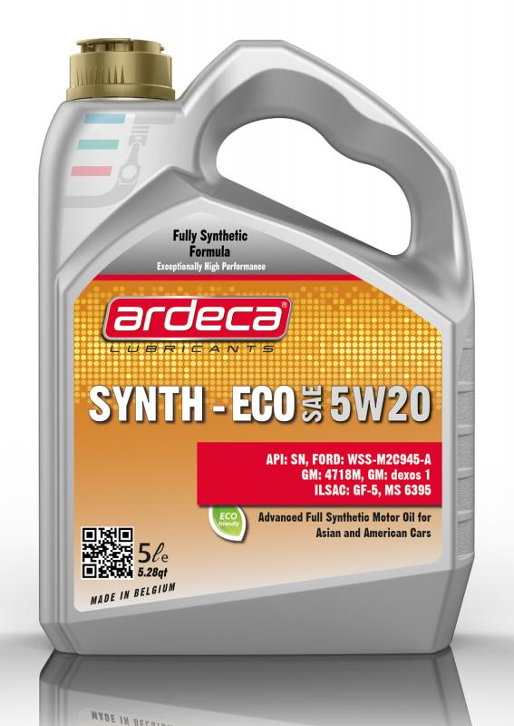 ARDECA SYNTH ECO 5W20 5 LITER