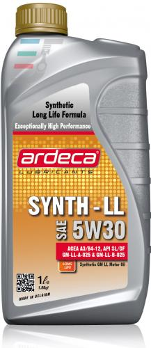 GM OLJA 5W30 1 LITER ARDECA SYNTH LL 5W30
