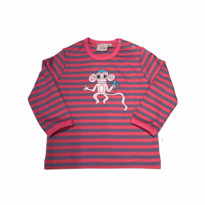 Randig Ap-tröja Lila/rosa i OEKO-TEX